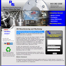 RG Manufacturing and Machining